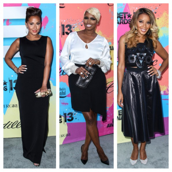 adrienne bailon-nene leakes-cynthia bailey-debra lee pre bet awards dinner 2013-the jasmine brand