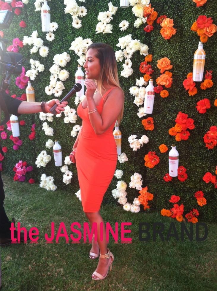 adrienne bailon-svedka vodka-the jasmine brand
