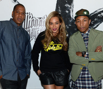 [Photos] Jay-Z & Beyonce Help Pharrell's Billionaire Boys Club Celebrate 10 Years