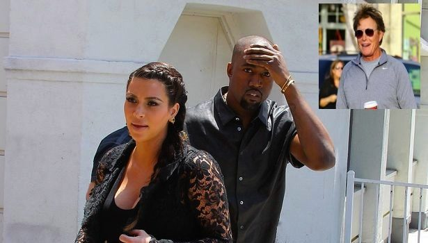 [VIDEO] Bruce Jenner Accidentally Calls Kanye West Out: 'He's Not Around!'