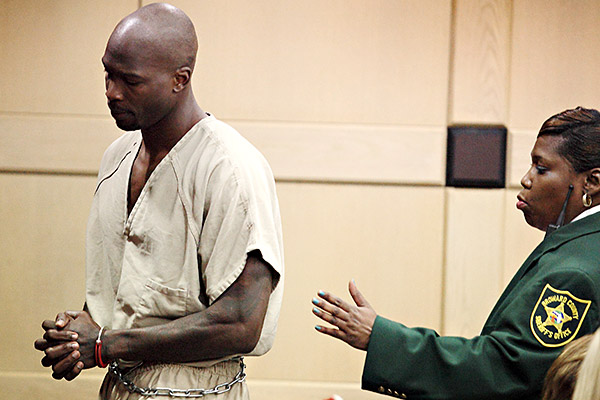 chad ochocinco johnson-released from jail-served 7 days-from 30 days-the jasmine brand