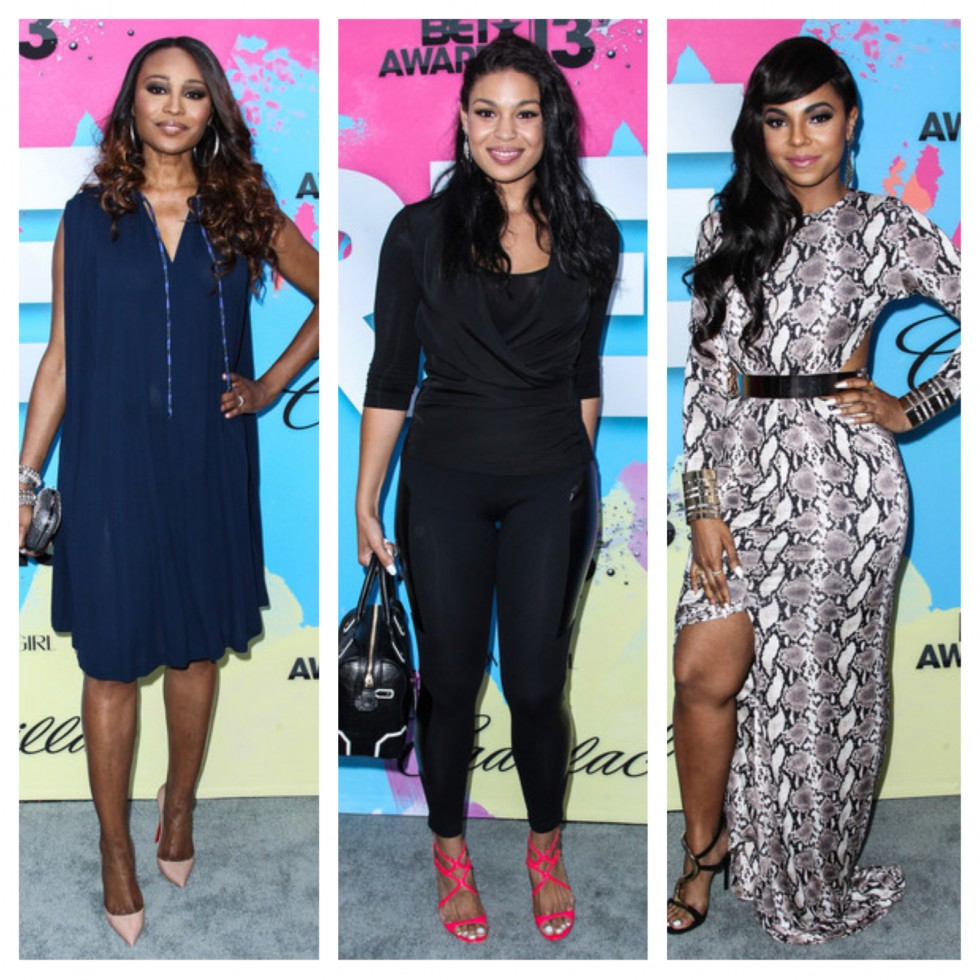 cynthia bailey-jordin sparks-ashanti-debra lee pre bet awards dinner 2013-the jasmine brand