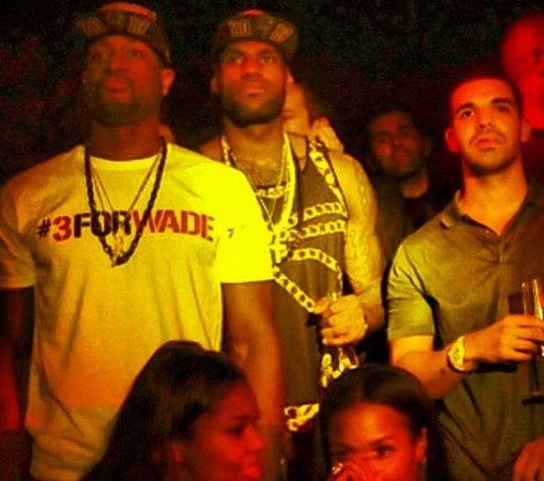 drake-lebron james-dwade-afterparty-miami heat championship 2013-the jasmine brand