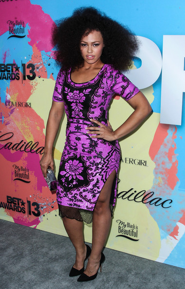 elle varner-debra lee pre bet awards dinner 2013-the jasmine brand