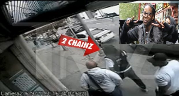 [WATCH] Footage of 2 Chainz Being Robbed At Gun Point Released