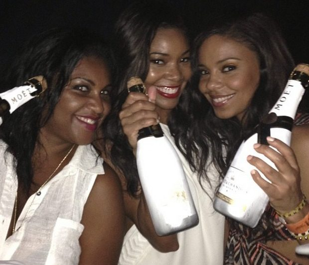[Photos] Basketball Wives, Girlfriends & Celebs Turn Up for Miami Heats Championship Win