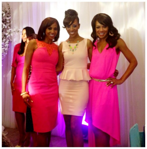 holly robinson peete-shaun robinson-wendy raquel robinson-lady like-women of excellence awards-the jasmine brand