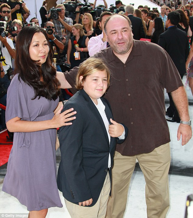 james gandolfini-son-wife-dies age 50-the jasmine brand