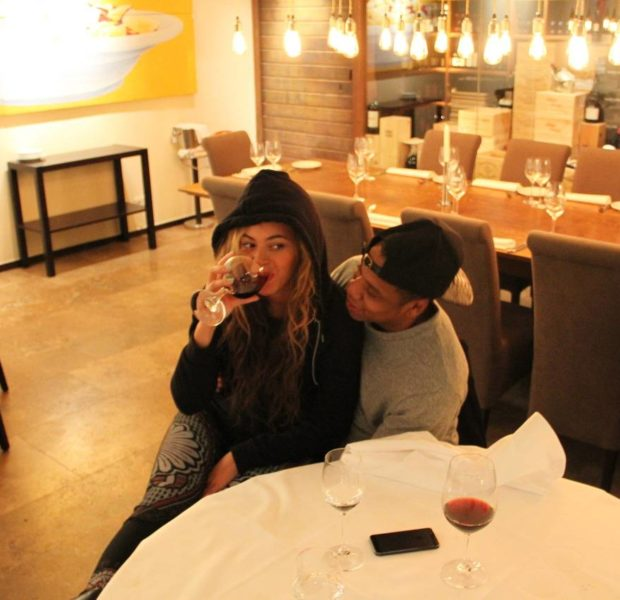 [Video] Beyonce Debuts New Song 'Standing On The Sun' In Belgium + Bey & Hubby Caught Cakin' Over Wine