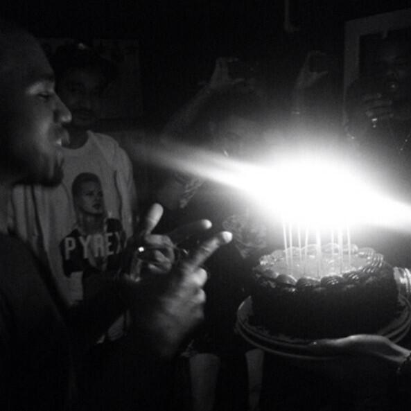 kanye west-birthday cake-2013-the jasmine brand