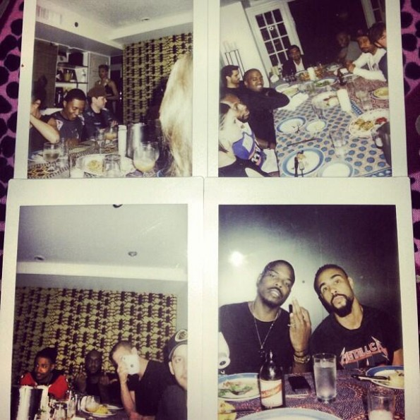 kanye west-birthday dinner 2013-the jasmine brand