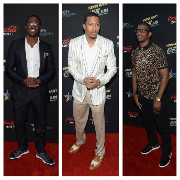 kevin hart-nick cannon-chris paul-let me explain premiere la-the jasmine brand