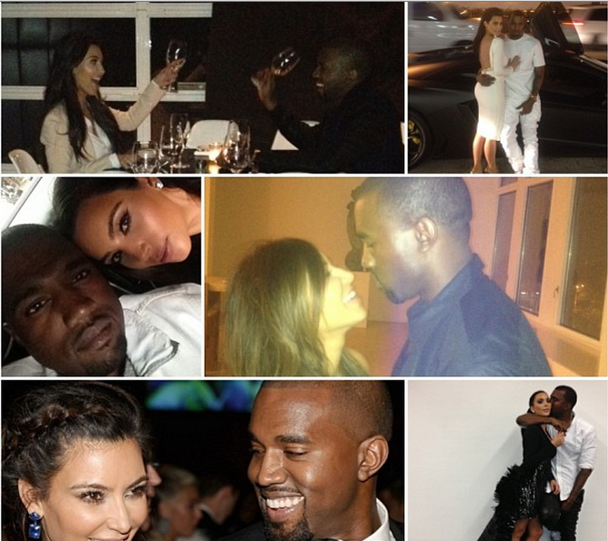 kim kardashian-birthday collage-for kanye west 2013-the jasmine brand