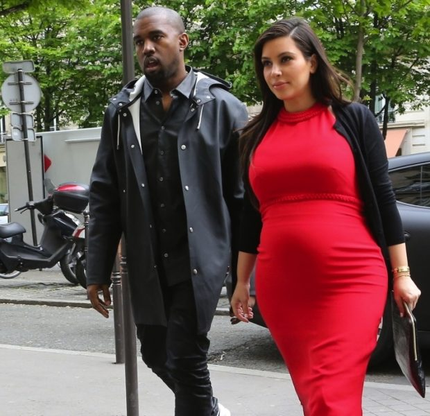 The Day Before Father's Day, Kanye West & Kim Kardashian Deliver Healthy Baby Girl
