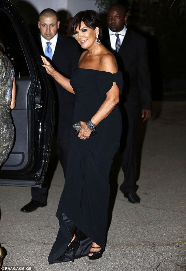 kris jenner-taj jackson wedding 2013-the jasmine brand