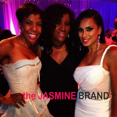 laura govan-drea kelly-nene leakes wedding 2013-the jasmine brand