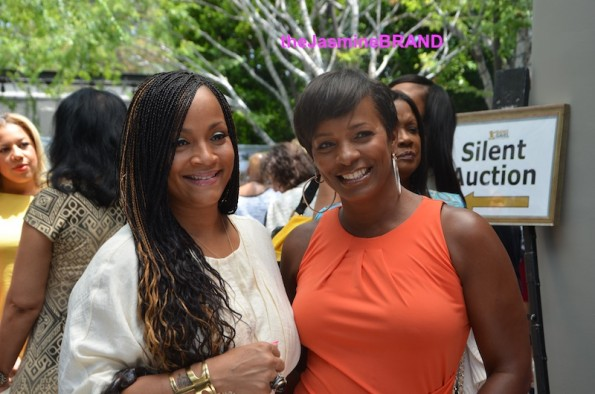 ll cool j wife simone-vanessa bell calloway-lady like-women of excellence awards 2013-the jasmine brand