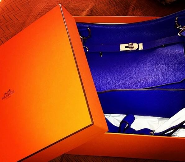 magic johnson-gifts son hermes bag-ej for birthday 2013-the jasmine brand