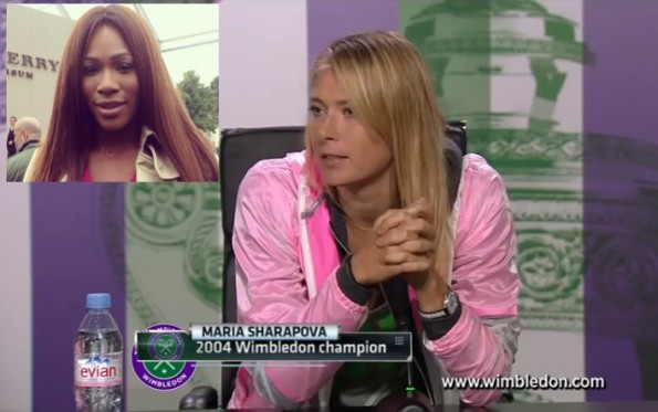 maria sharapova-calls serena williams out-for dating married man-press conference 2013-the jasmine brand