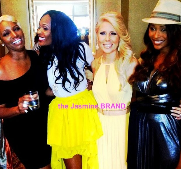 [Photos] NeNe Leakes Throws Post Wedding Day Brunch + Ceremony Left-Overs