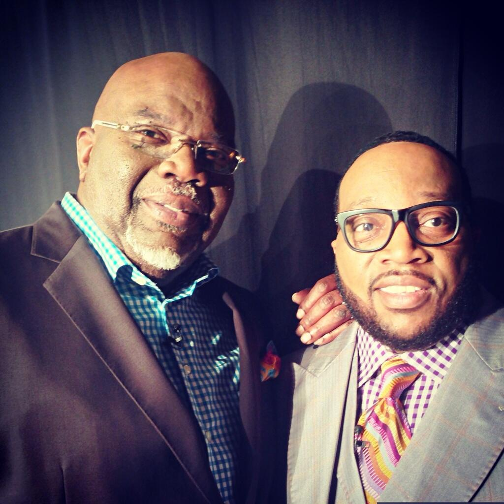 Photos] First Look: Bishop T D  Jakes Snags LL Cool J For New BET