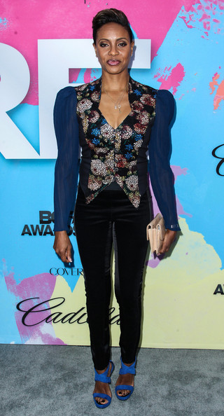 mc lyte-pre bet awards dinner 2013-the jasmine brand