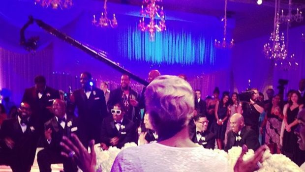 [Photos] No Cameras Allowed! Attendees Sneak Pix & Spill Details About NeNe & Greg Leakes Wedding