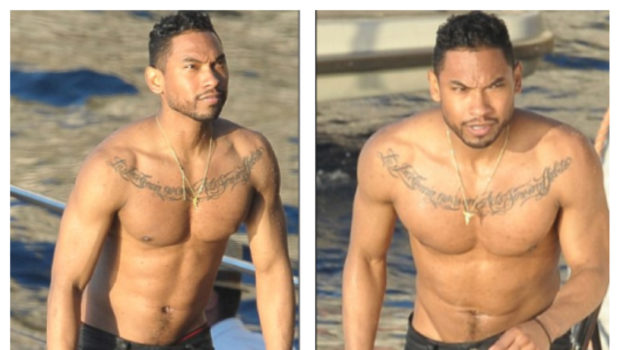 Miguel Takes Off His Shirt For Video With Mariah Carey + Diddy, Steve Stoute & Nas Kick It In Cannes