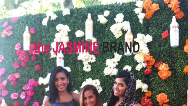 [Photos] Adrienne Bailon, Julissa Bermudez & Jeannie Mai Attend SVEDKA Splash Party in Beverly Hills