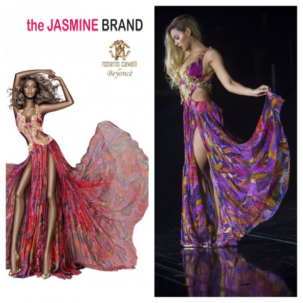 roberto cavalli-defends beyonce gown sketch-the jasmine brand