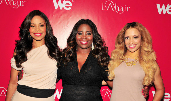 [Photos] Brandy, Sanaa Lathan & Kelly Price Attend Kim Kimble's 'LA Hair' Party