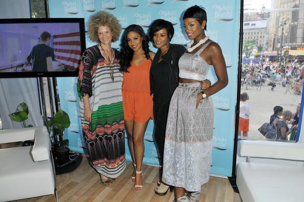 sanaa lathan-roundtable-my beautiful is black-the jasmine brand