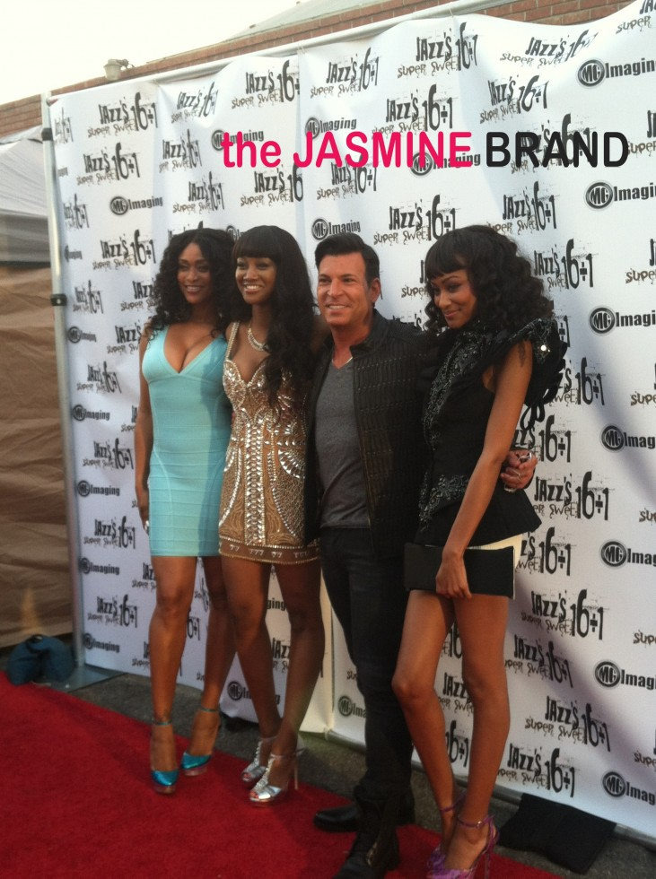tami romans daughter-jazz-16th birthday party-the jasmine brand