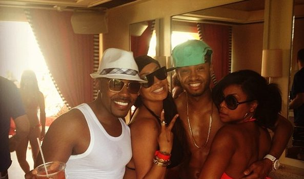 [Pix] Is This A Movie Shoot Or A Big A** Party? 'Think Like A Man 2' Continues Their Vegas Take-Over