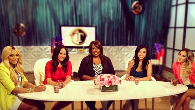 [WATCH] An Exclusive Look At 'The Real Talk' Show With Tamar Braxton, Tamera Mowry-Housley & Adrienne Bailon