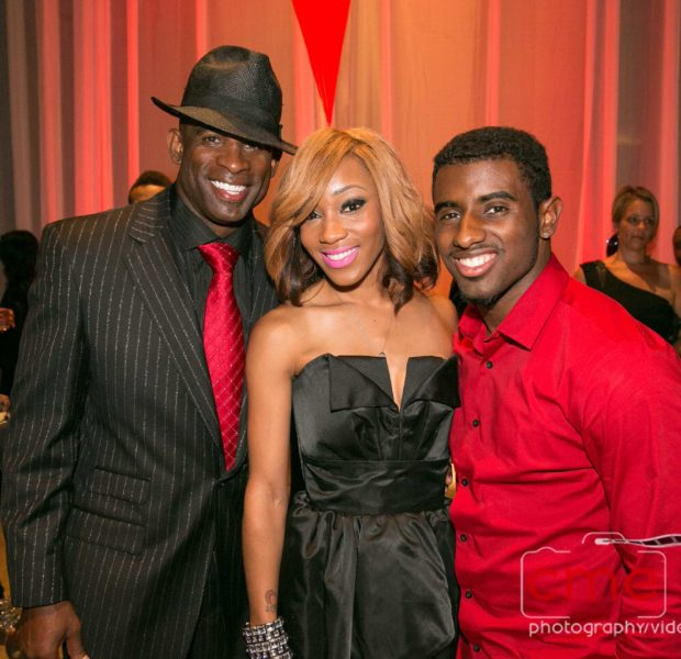 [Photos] Kordell Stewart, Nicci Gilbert, Quad Webb-Lunceford Show Up For Deion Sanders Black & Red Gala