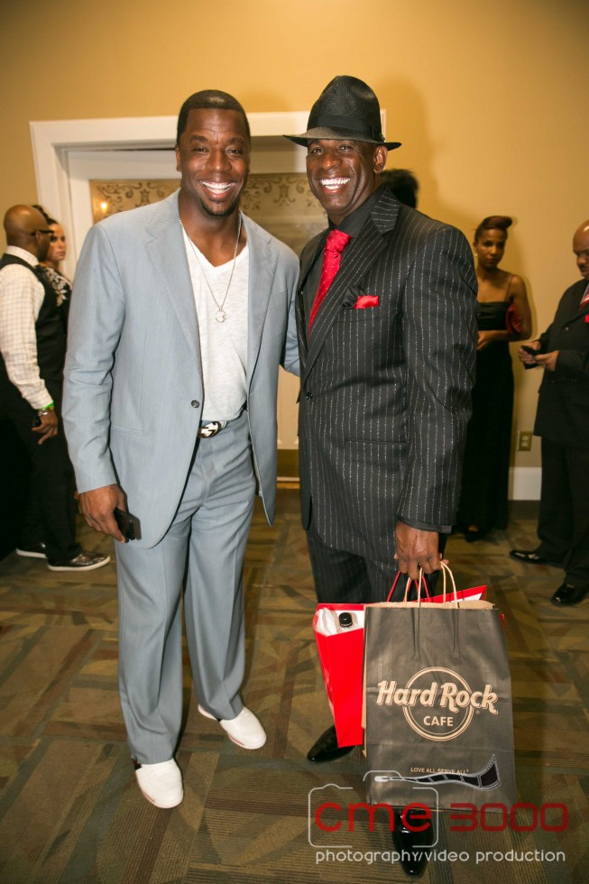 Kordell Stewart-DEION SANDERS Prime Time Black and Red GALA-the jasmine brand