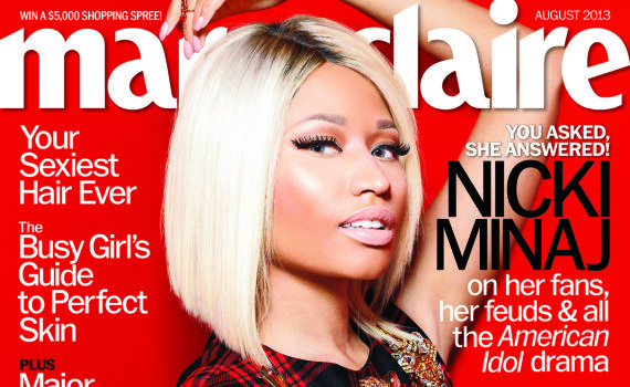 Nicki Minaj Covers Marie Claire: Talks Leaving Rap for the Big Screen + Explains Why Women Should Stop Chasing Men in Relationships