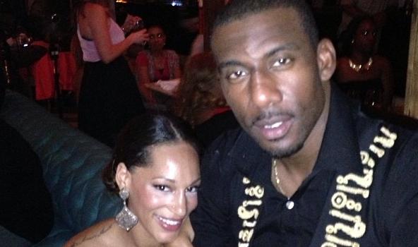 [Photos] NBA Baller Amar'e Stoudemire & Alexis Welch FINALLY Get Hitched In Miami, Peep the Pix!