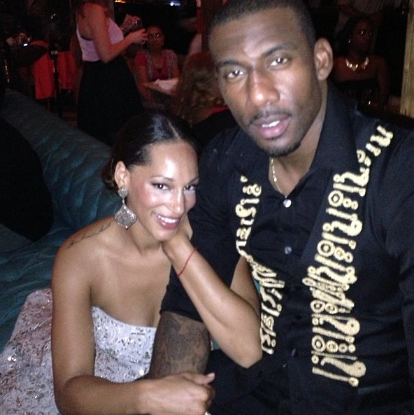 [Photos] NBA Baller Amar'e Stoudemire & Alexis Welch FINALLY Get Hitched In Miami, Peep the Pix!