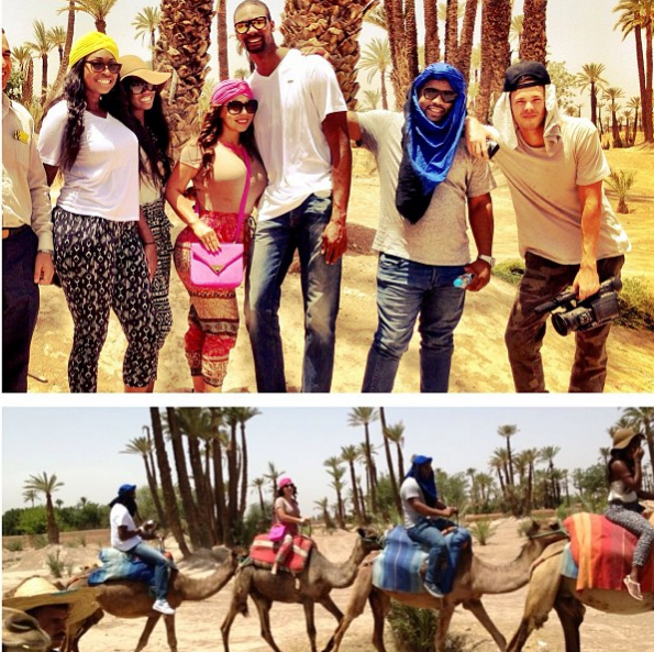 Chris-Bosh-Adrienne-Bosh-Friends-Morocco-2013-The-Jasmine-Brand