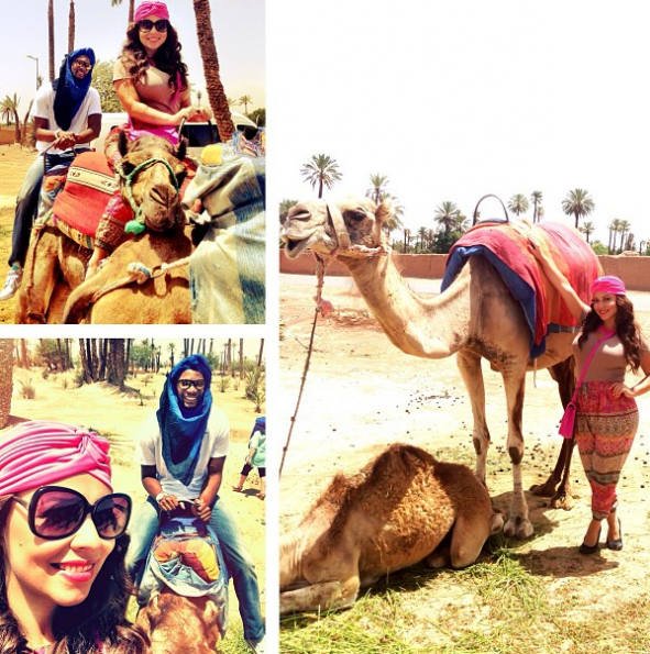 Adrienne-Chris-Bosh-Morocco-Camels-2013-The-Jasmine-brand