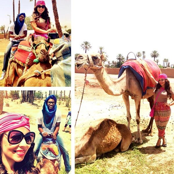[Photos] NBA Baller Christopher Bosh & Wife Adrienne Travel to Morocco