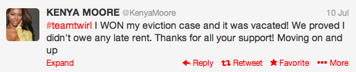 kenya-moore-eviction-tweet-2013-the-jasmine-brand