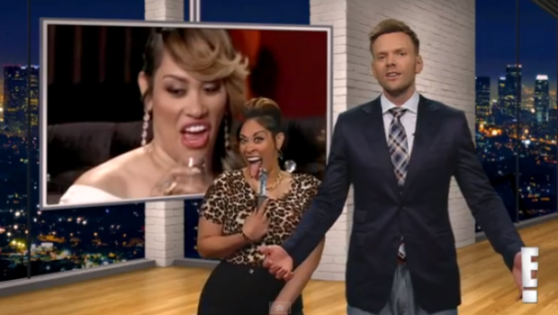 [VIDEO] KeKe Wyatt Shows Off Comedy Skills, Pokes Fun At Stabbing Ex Hubby On 'The Soup'