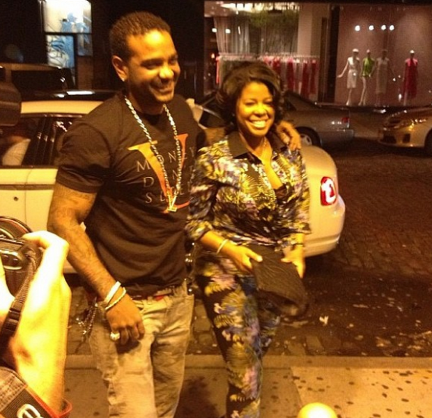 [Photos] Chrissy Lampkin And Jim Jones Get Renewed, Caught Filming Season 2 of 'Chrissy & Mr. Jones' Reality Show