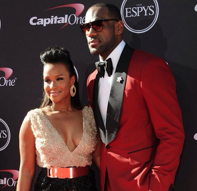 Pix] Athletes, Wives & Girlfriends Serve Fashion On ESPY Awards Red