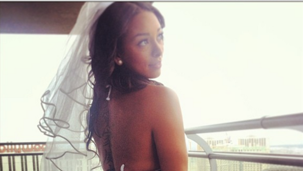 [Photos] Gloria Govan Shows Off Booty Cheeks & Beauty For Las Vegas Bachelorette Party
