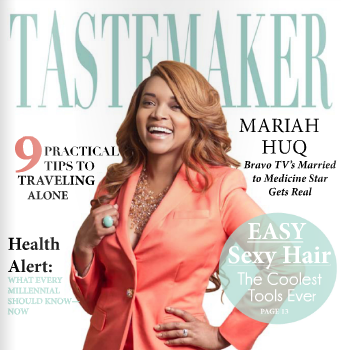 [Photos] 'Married 2 Medicine's' Mariah Huq Covers Tastemaker Magazine