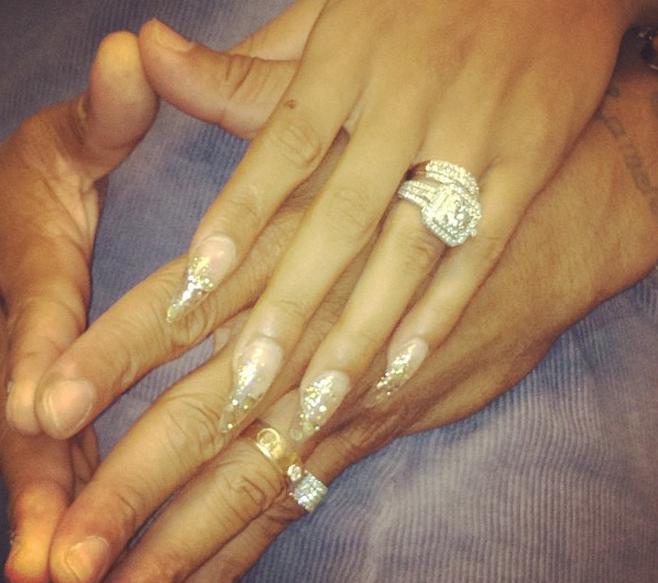 VIDEO LHHAs Stevie J Amp Joseline Hernandez Show Off Their Wedding Rings Watch Full Episode